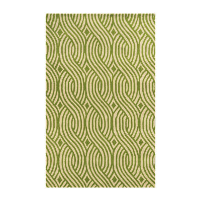 Rizzy Home Julian Pointe Collection Evelyn PatternArea Rug