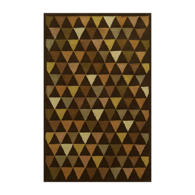 Rizzy Home Julian Pointe Collection Hollie Geometric Area Rug