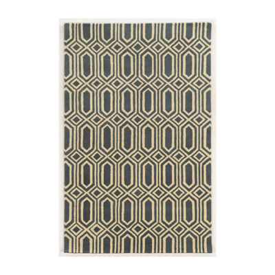 Rizzy Home Julian Pointe Collection Rosie Geometric Area Rug