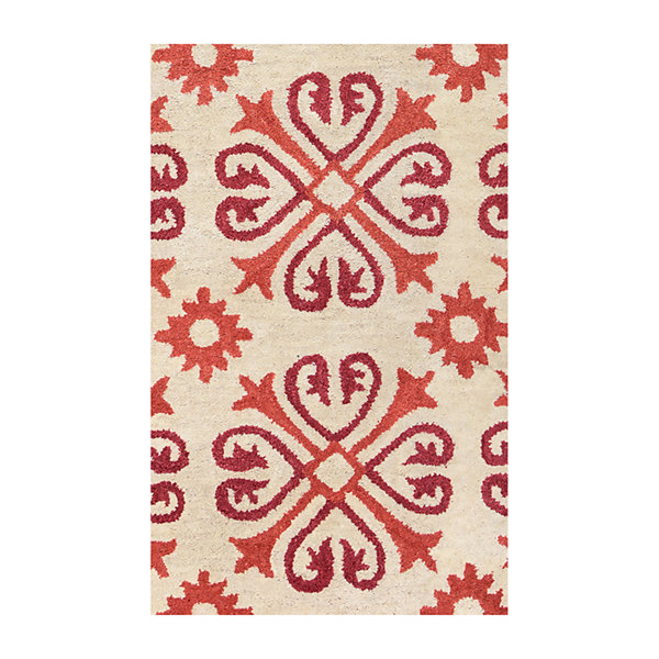 Rizzy Home Opus Collection Esme Medallion Rug