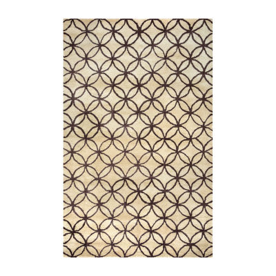 Rizzy Home Opus Collection Leah Geometric Area Rug