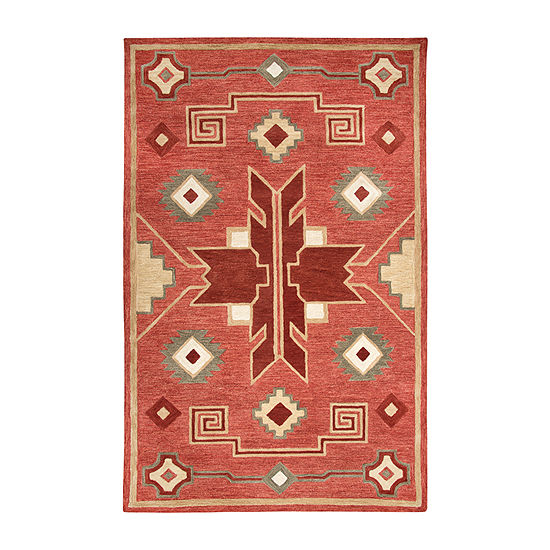 Rizzy Home Mesa Collection Charisma Hand-Tufted Various Area Rug