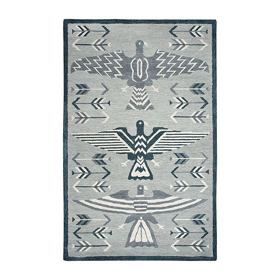 Rizzy Home Mesa Collection Elyson Hand Tufted Various Area Rug