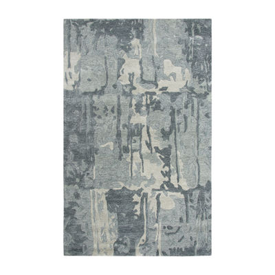 Rizzy Home Mod Collection Freedom Hand-Tufted Abstract Rug