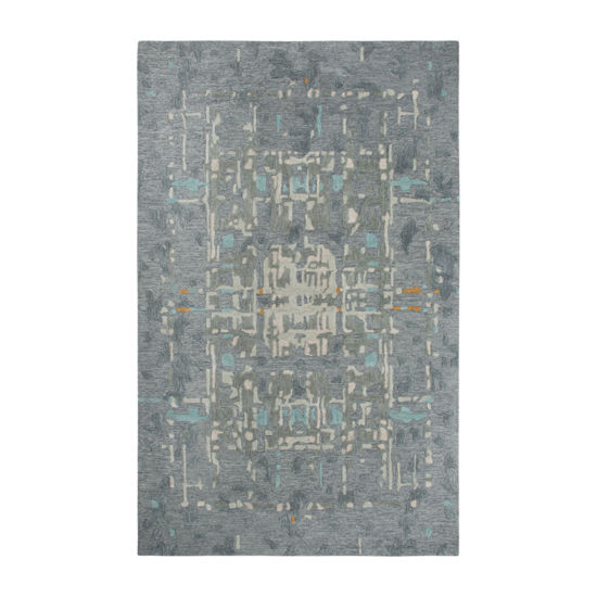 Rizzy Home Mod Collection Hosanna Hand-Tufted Abstract Rug