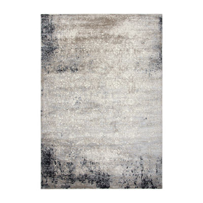 Rizzy Home Encore Collection Zahara Abstract Power-Loomed Area Rug