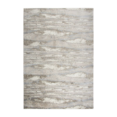 Rizzy Home Encore Collection Zayda Abstract Power-Loomed Area Rug