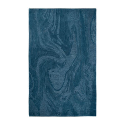 Rizzy Home Fifth Avenue Collection Zelda Abstract Hand-Tufted Area Rug