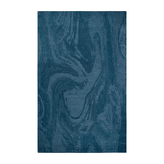 Rizzy Home Fifth Avenue Collection Zelda Abstract Hand Tufted Area Rug