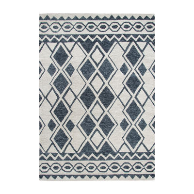 Rizzy Home Arden Loft-Sandhurst Collection Duke Hand-Tufted Geometric Area Rug