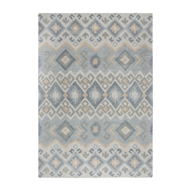 Rizzy Home Arden Loft-Sandhurst Collection DustinHand-Tufted Geometric Area Rug