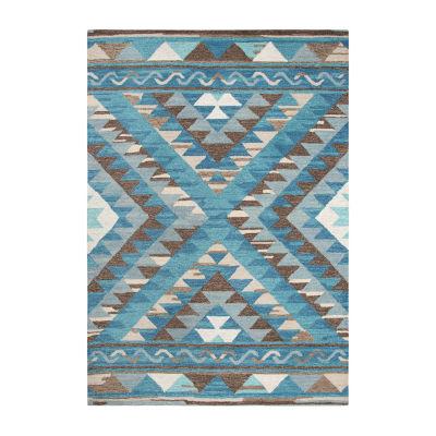 Rizzy Home Arden Loft-Kavali Collection Giuliana Hand-Tufted Geometric Area Rug