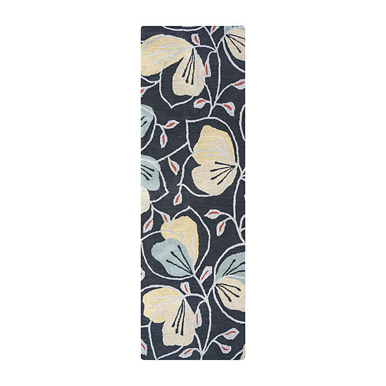 Rizzy Home Arden Loft Lewis Manor Collection Meredith Hand Tufted Floral Rug