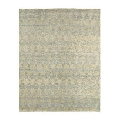 Oushak Distressed Striped Rug
