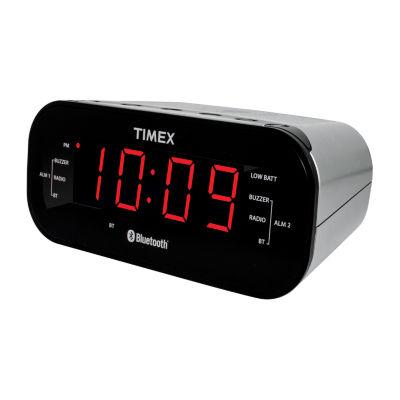 Timex T332S Bluetooth Dual Alarm Clock Radio
