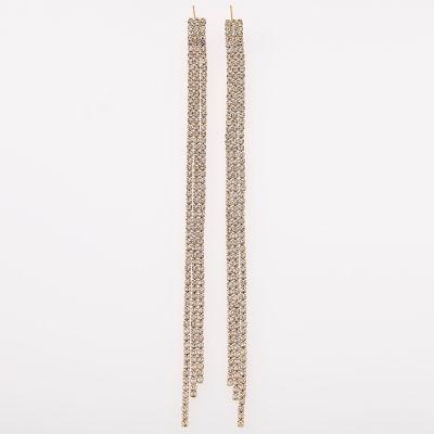 Bijoux Bar Clear Drop Earrings