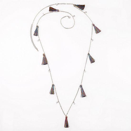 Bijoux Bar 36 Inch Link Strand Necklace