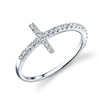 Footnotes Other White Cross Bypass Ring