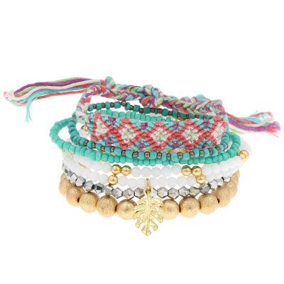 Decree Womens Stretch Bracelet