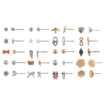 Decree Clear Earring Set