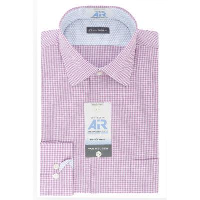 Van Heusen Van Heusen Air Long Sleeve Broadcloth Checked Dress Shirt