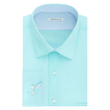 Van Heusen Air Long Sleeve Broadcloth Dress Shirt