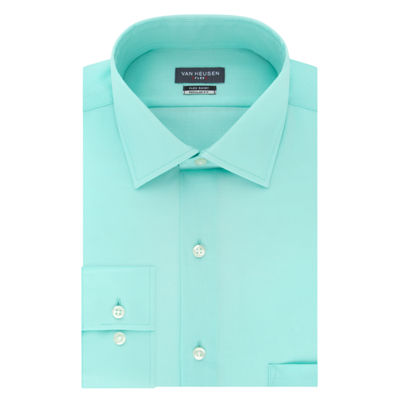 Van Heusen Wrinkle-Free Flex Collar Stretch Long Sleeve Twill Dress Shirt - Slim