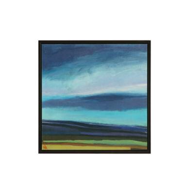 Madison Park Evening Sky Gel Coat Framed Canvas