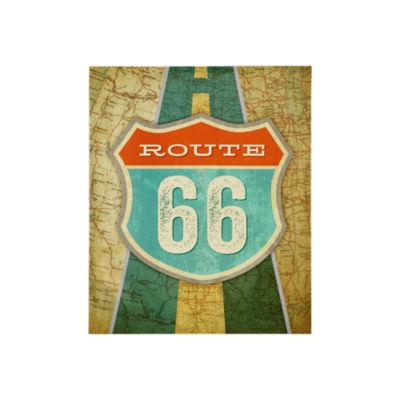 Mi Zone Route 66 Gel Coat Canvas