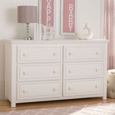 Simmons Oakmont 6-Drawer Nursery Dresser