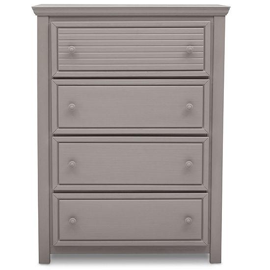 Simmons Oakmont 4-Drawer Nursery Dresser