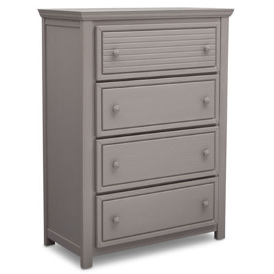 Simmons Oakmont 4-Drawer Nursery Dresser