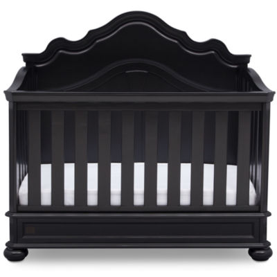 Simmons Peyton Convertible Baby Crib - Ebony