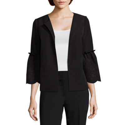 Liz Claiborne Open Jacket - Tall