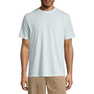 Island Shores Mens Crew Neck Short Sleeve T-Shirt