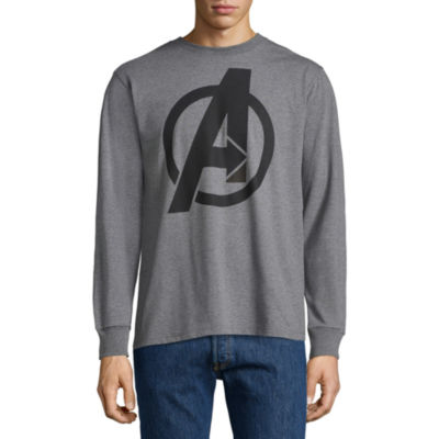 Marvel Avengers Character List Long Sleeve Graphic Tee