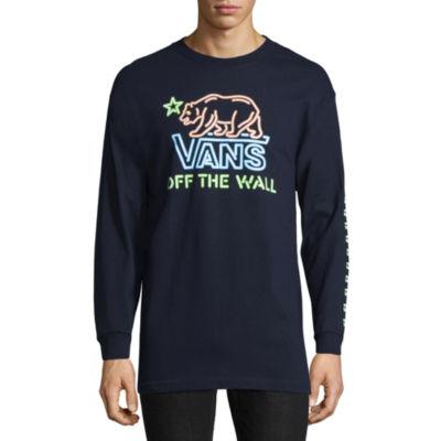 Vans Long Sleeve Logo Graphic T-Shirt