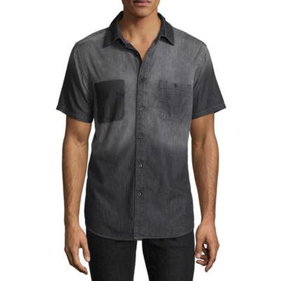 Decree Short Sleeve Button-Front Shirt