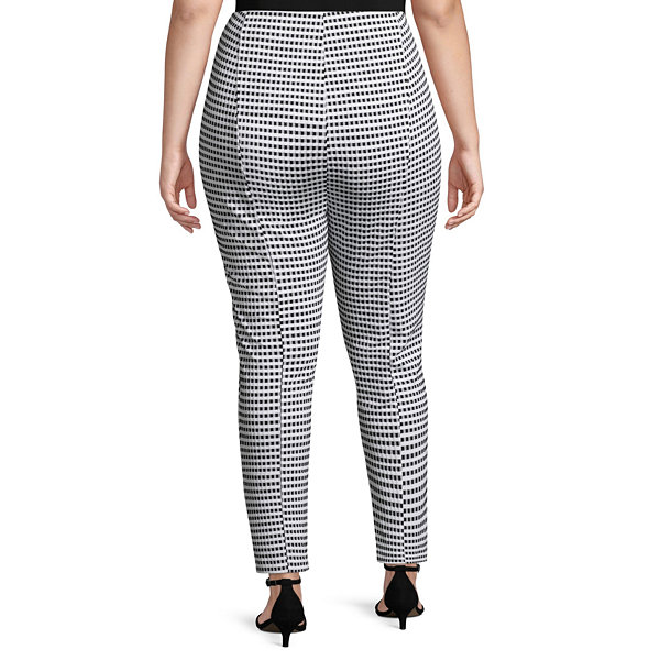 Bold Elements High Waist Pull-On Pants - Plus