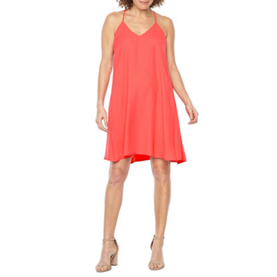 Darian Sleeveless Trapeze Dress