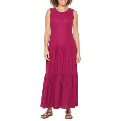 Vivi By Violet Weekend Sleeveless Maxi Dress