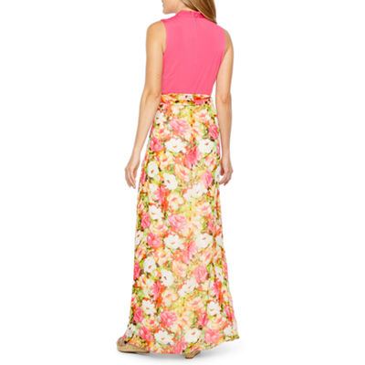Be by CHETTA B Sleeveless Maxi Dress
