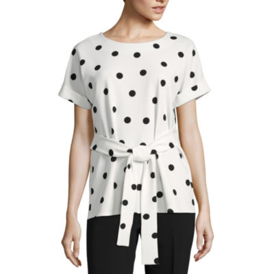 Worthington Belted Dolman Top - Tall