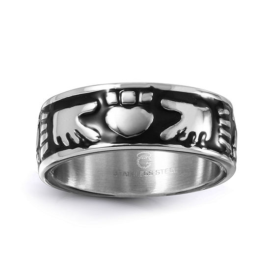 9M Stainless Steel Wedding Band
