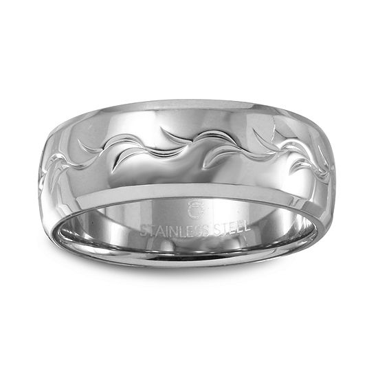 6MM Stainless Steel Wedding Band