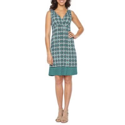 St. John's Bay Flip Flop Dress - Tall