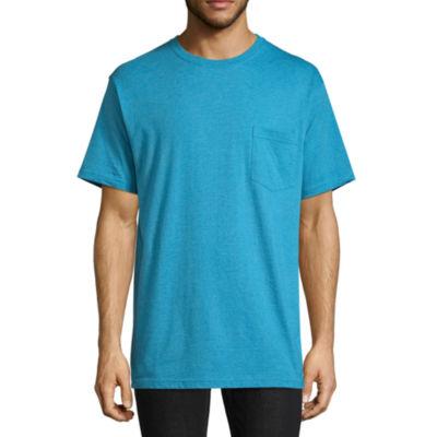 Stafford Blended Crew Pocket T-Shirt - Big & Tall
