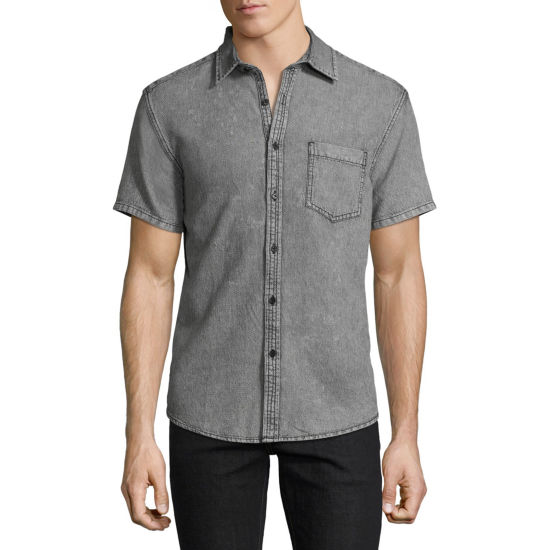 Decree Short Sleeve Button-Front Shirt