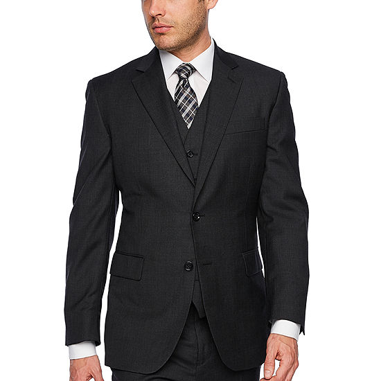 Stafford Executive Super100s Charcoal Grid Classic Fit Suit Jacket