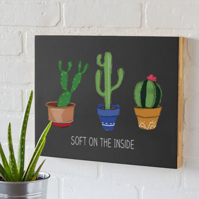 Cathy's Concepts Cactus Chalk Board